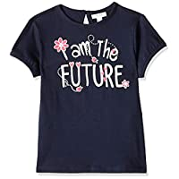 OVS Baby Girls 191TSH216A-227 Blouse, Blue (Navy Blazer 2436), 24-30