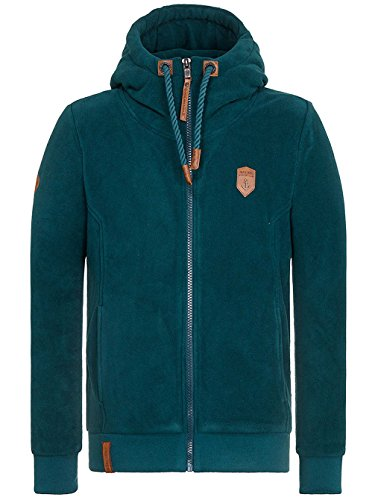 Naketano Male Zipped Jacket Mach Et Otze IV Dark Green