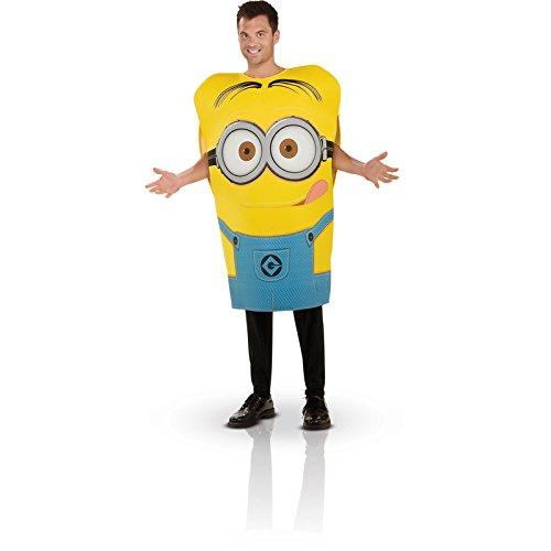Rubie 's Offizielles Schaumstoff Tunika Erwachsene Minion (Mädchen Kind Minion Despicable Kostüme Me)