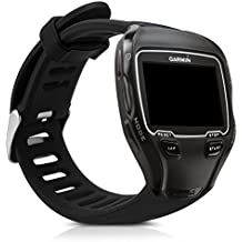 Armband für Garmin Forerunner 910XT - kwmobile Silikon Sport Ersatzarmband mit Verschluss ohne Fitness Tracker Innenmaße: ca. 17 - 22,5 cm