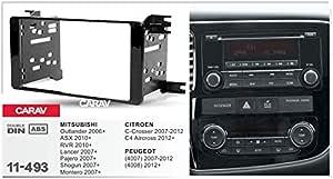 Carav 11 493 Doppel Din Radioblende Auto