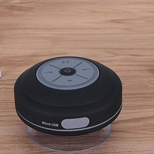Altoparlante Bluetooth altoparlante vivavoce per auto altoparlante Bluetooth Big SuckerQ9 nero
