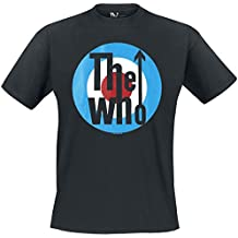 The Who Classic Logo Camiseta Negro
