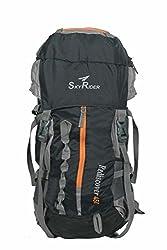 SkyRider Rediscover 45 Ltrs Rucksack bag ,Trekking bag & Hiking bag.