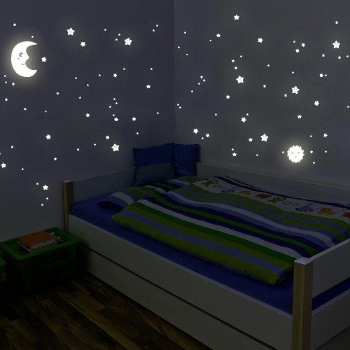 adesivi-fluorescenti-wandkings-kit-xl-sole-luna-stelle-114-adesivi-su-2-fogli-formato-a4-din-fluores