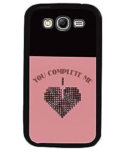 Printvisa 2D Printed Love Designer back case cover for Samsung Galaxy Grand - I9082 - D4299