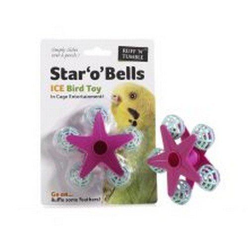 Sharples Ruff N Tumble Star O Bells Vogelspielzeug (9 cm) (Mehrfarbig) (Tumble Bell)