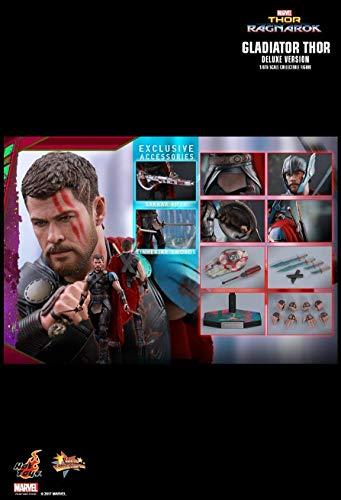 Hot Toys MMS445 - Marvel Comics - Thor 3 : Ragnarok - Gladiator Thor Deluxe Version (Hot Thor Toys)