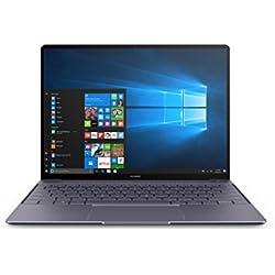 "Huawei Matebook X - Ordenador portátil Ultrafino de 13.3"" 2K IPS (Procesador Intel Core i5 7200U, 8 GB RAM, 256 GB SSD, Windows 10 Home), Color Gris - Teclado QWERTY español"