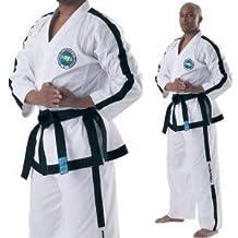 ITF Taekwondo trajes–Dobok para 4a 9Dan Internacional Cinturones de negro