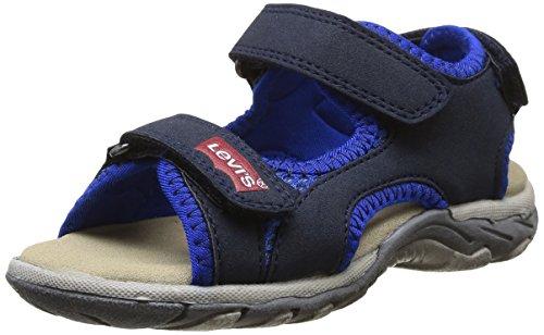 Levi's Sando, Sandales mixte enfant Bleu