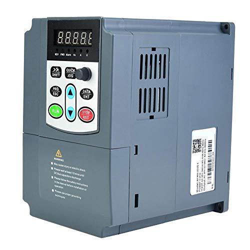 Frequenzumrichter VFD, Frequenzumrichter 380 VAC, 2,2 kW, 3 PS, überlasteter Vektormotor VFD, 3 Phasen