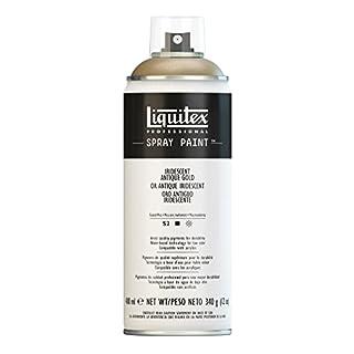 Liquitex Professional Spray Paint 400 ml, Iridescent Antique Gold
