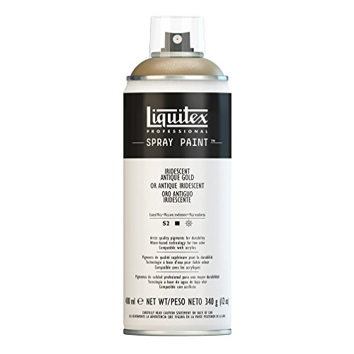 Liquitex Professional - Acrílico en spray, 400ml, oro antiguo iridiscente