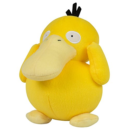 "Pokemon T18536D12PSYDUCK 8-Inch Officially Licensed ""Psyduck"" Plush Toy"