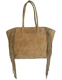 Clicktin Women's Shoulder Bag (Brown, CLKBAG168)