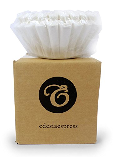 EDESIA ESPRESS - 100 filtres à café en papier - usage professionnel - Bravilor/Technivorm/Kenco - 90/240 mm