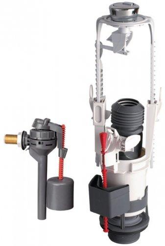 Mechanismus komplett-Baustelle-Pro 3/6Liter-mit Schwimmerventil seitlich-Altech 14370002