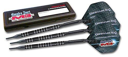Empire Dart Softdartset M3 TIT-Black - 90% Tungsten 18 Gramm