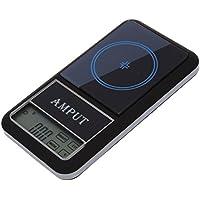 AMPUT Nueva Pantalla Tactil Digital de Bolsillo Escala Joyeria Escala 200g x 0.01g