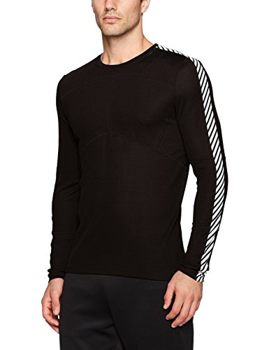 Helly Hansen Herren HH Lifa Crew Baselayer, Black, L -