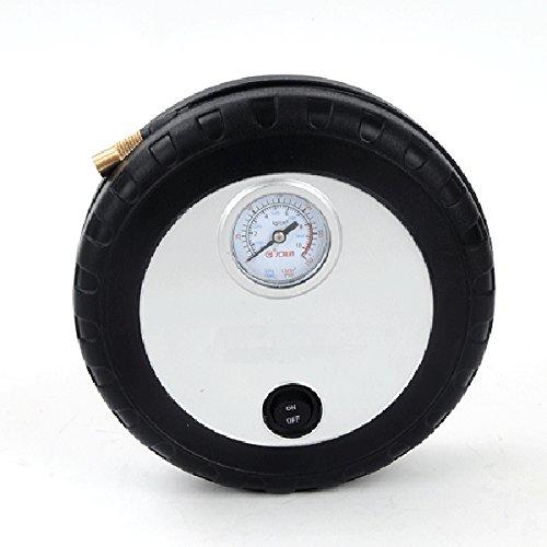 SYSTEM-S 12V 150PSI (ca. 10 Bar) PKW Auto Luftkompressor Druckluft Mini Kompressor für Reifen Pannenset Luftpumpe