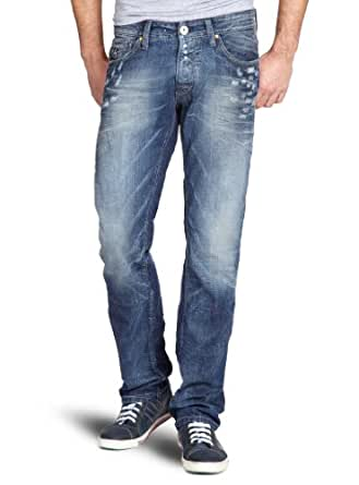 SELECTED HOMME Herren Jeans Normaler Bund 16028051 Three Andy 1296 Jeans, Gr. 29/32, Blau (Denim)