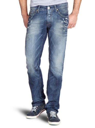 Selected - Jeans straight, uomo, Blu (Blau (Denim)), 42/44 IT (29W/32L)