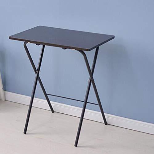 Freistehende Arbeitstisch (HBJP Klapptisch Freistehender einfacher Klapptisch Esstisch, Kleiner Tisch Nachtlaptoptisch Klapptisch (Farbe : B))