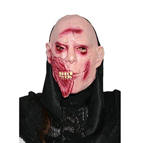 Halloween Masken,Rosennie Erschreckend Geistermaske Maske Horror Zombie Monster Dämon Totenkopf Schädel Kopfmaske hochwertigen Für Festival Party Cosplay,Cosplay,Halloween,Kostü (B)