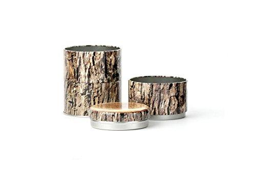 Kikkerland OB24stapelbare Holz Dose -