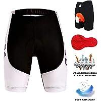 LiHong Pantalones Cortos de Bicicleta/Bicicleta Pantalones Cortos Mujer/Ciclismo Pantalones/Pantalones Cortos de Ciclismo/Shorts de Ciclismo/Pantalones Cortos de MTB/Cortos de Bicicleta