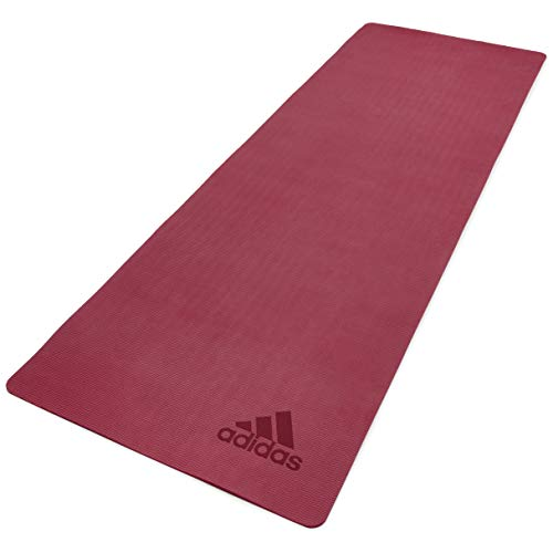 adidas Estera de Yoga Premium - Rubí, 5 mm