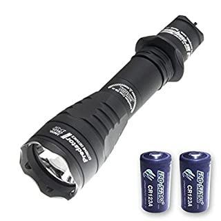 Combo: Armytek Predator Pro v3 XHP35 Hi Flashlight 1700 Lumens w/NL1835 Battery + A1 Charger