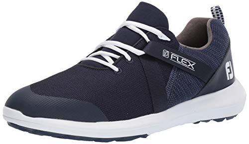 FootJoy FJ Raven SL, Zapatillas de Golf para Hombre, Azul Azul Navy 56102m, 43 EU