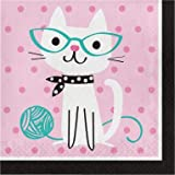 Purrfect Party Luncheon Napkin