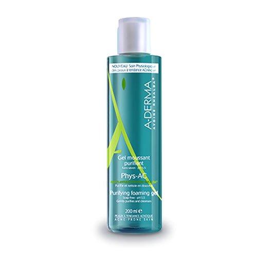 Aderma Phys-Ac Gel Detergente Purificante Viso 200 ml