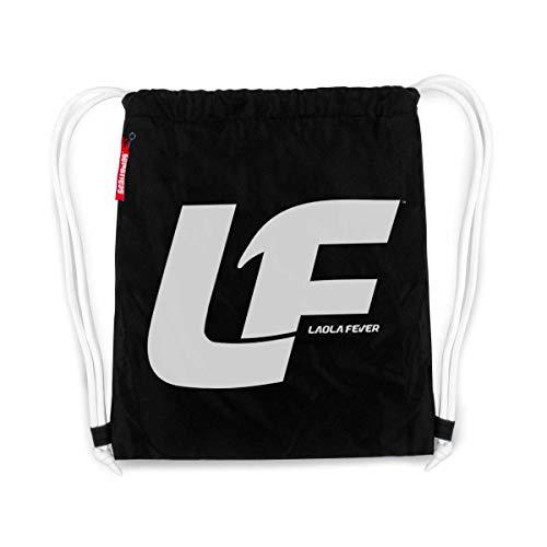 LAOLAFEVER® Fußball Tasche Logo I A BRAYCE® Collaboration (Gymsack mit Seitentasche) -
