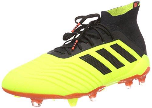 adidas Herren Predator 18.1 FG Fußballschuhe Gelb Neongelb/schwarz, 40 2/3 EU