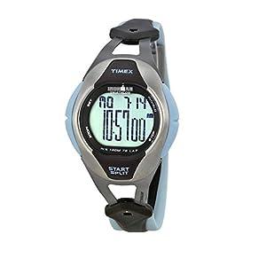 Timex Reloj Digital para Mujer de Cuarzo con Correa en Titanio T5K030