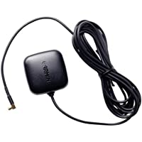Garmin Aktiv-Antenne GA 25 MCX mit Magnetfußhalterung und 3m Kabel für Navigationssystem GPS, GPSMAP, iQue, Streetpilot, Quest, und nüvi