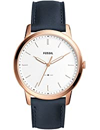 Fossil Analog White Dial Men's Watch-FS5371