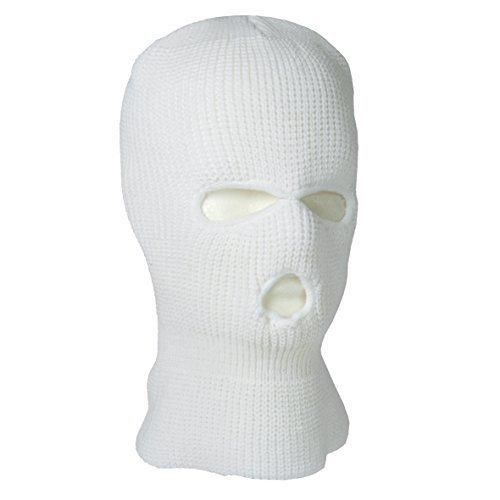 Sturmhaube Commando weiß (Maske Recon)