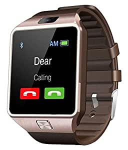 iBall Andi 4.5h Compitable Bluetooth Smart Watch Phone With Camera and Sim Card Support With Apps like Facebook and WhatsApp Touch Screen multilanguage Android/IOS mobile Phone Wrist Watch Phone with activity trackers and fitness band features by VELL- TECH