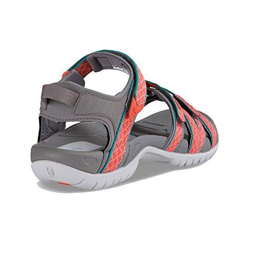 Teva Tirra W's Damen Sport- & Outdoor Sandalen Grey