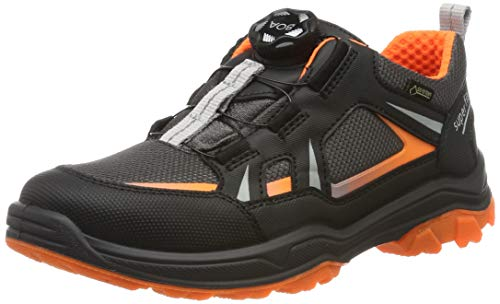 Superfit Jungen Jupiter Gore-Tex Sneaker, Schwarz/Grau 00, 38 EU