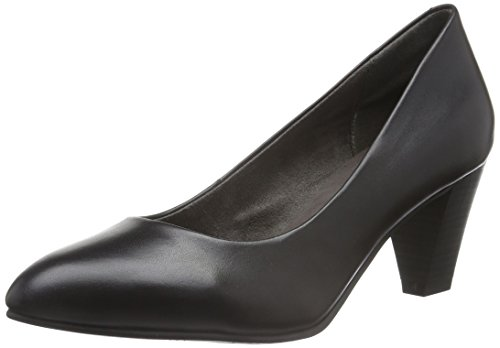 Tamaris 22414, Scarpe con Tacco Donna, Nero (Black Leather 003), 38 EU
