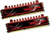 G.Skill F3-8500CL7D-8GBRL - Memoria RAM de 8 GB (DDR3, 2 x 4 GB, 1333 MHz, 240-pin), rojo