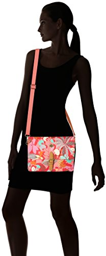 Oilily - Oilily M Flat Shoulder Bag, Borsa a tracolla Donna Pink (Pink flamingo)