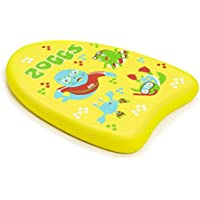 Zoggs Children's Zoggy Mini Easy Learn to Swim Float Kickboard - Yellow, 3-12 Years